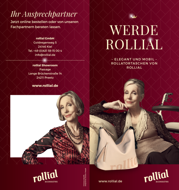 Rollial Flyer Kampagne WErde Rollial